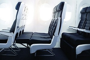 Air NZ Flat Bed economy
