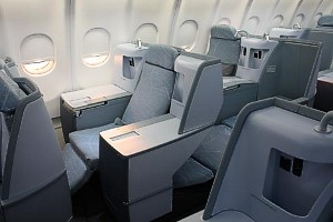 Finnair Flat Beds