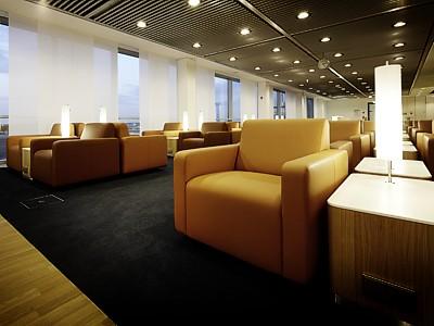 Lufthansa new lounge Frankfurt