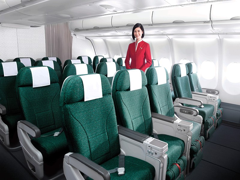 cathay launch premium economy