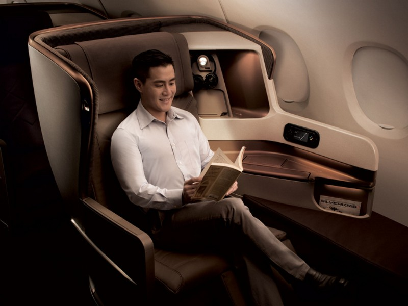 singapore airlines business class seat 2