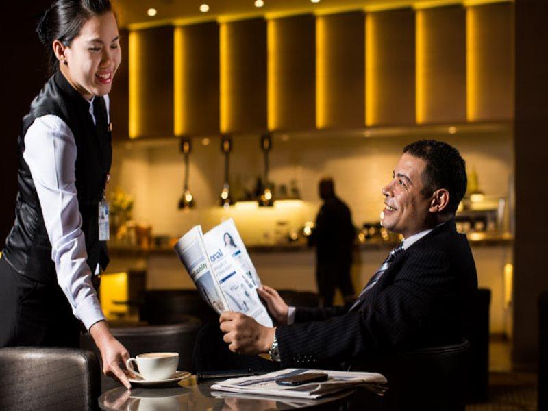 Abu Dhabi Al Reem lounge