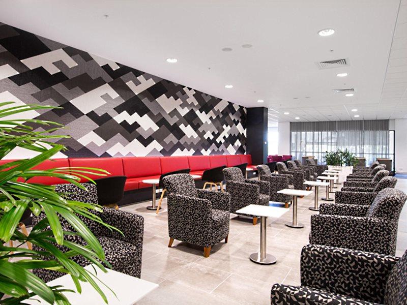 Qantas Club Darwin The newly expanded Qantas