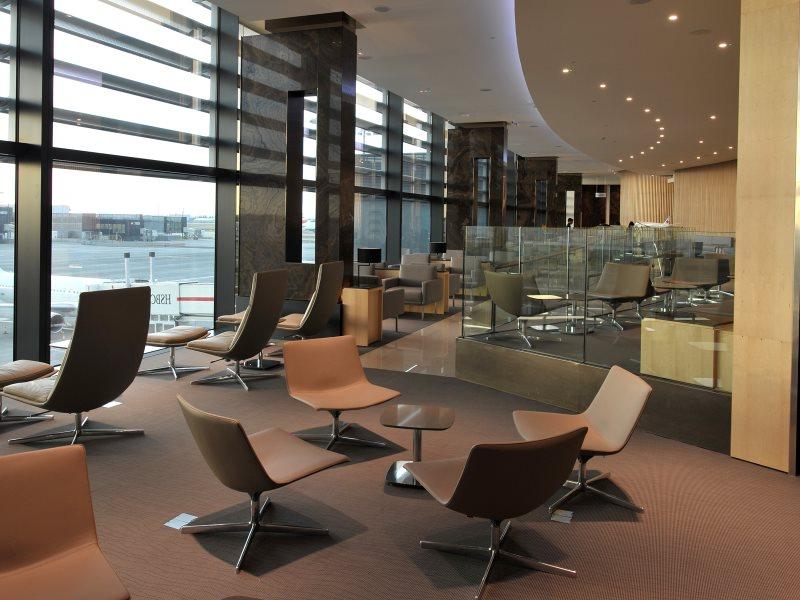 air canada lounge heathrow A large model