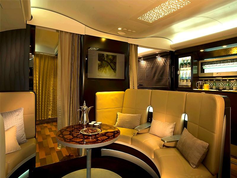 etihad a380 inflight bar The Etihad A380