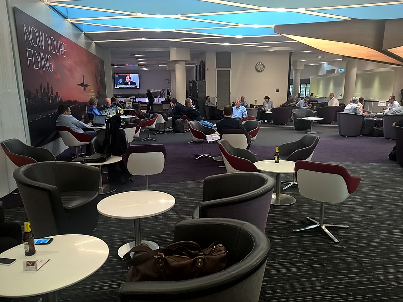 Virgin Australia Brisbane Lounge 1