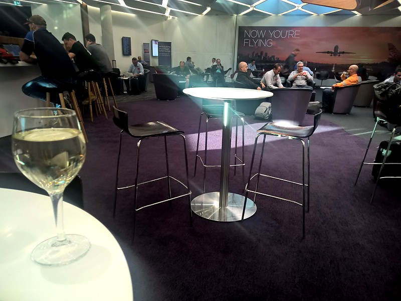 Virgin Australia Brisbane Lounge 4