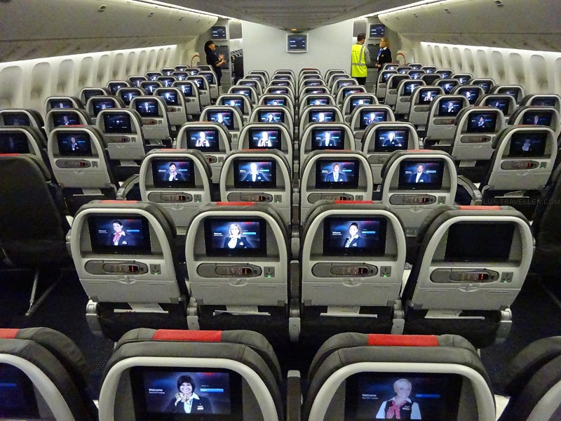 American Airlines Boeing 777 300er Match Qantas Service To