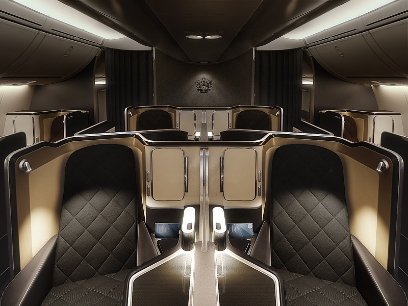 british airways 787 first class 3