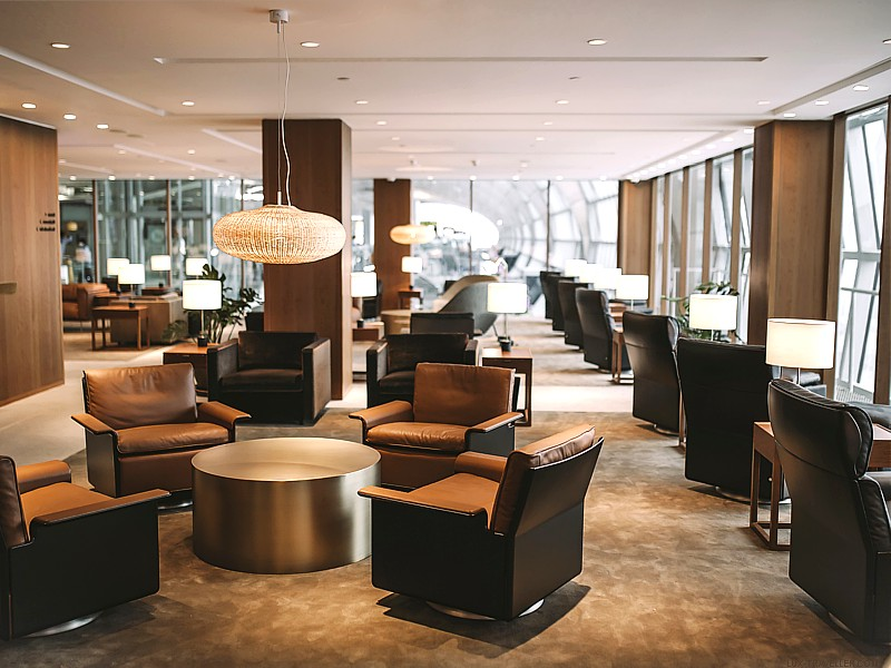 Cathay Pacific Open New Bangkok Lounge