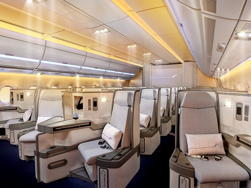finnair a350 business class
