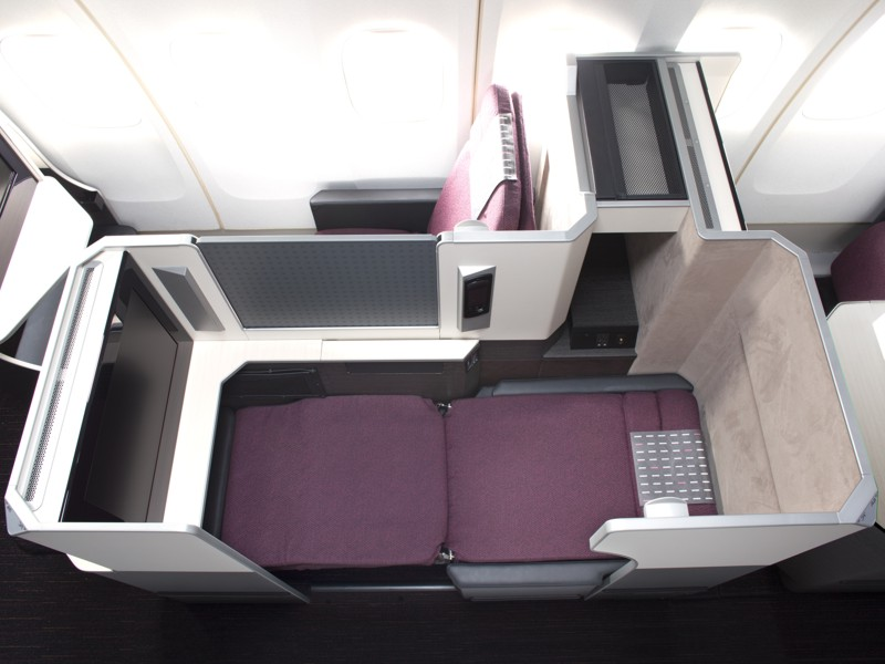 new jal business class