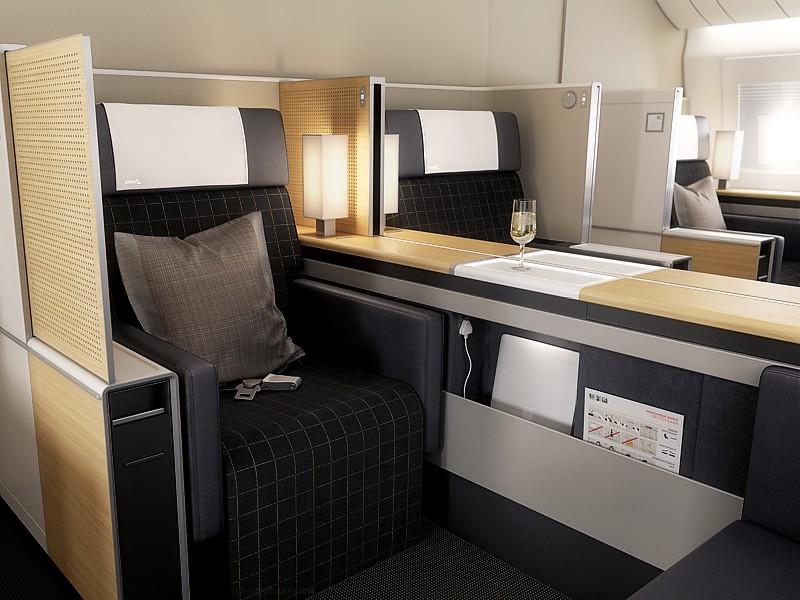 swiss boeing777 first business class Swiss First Class