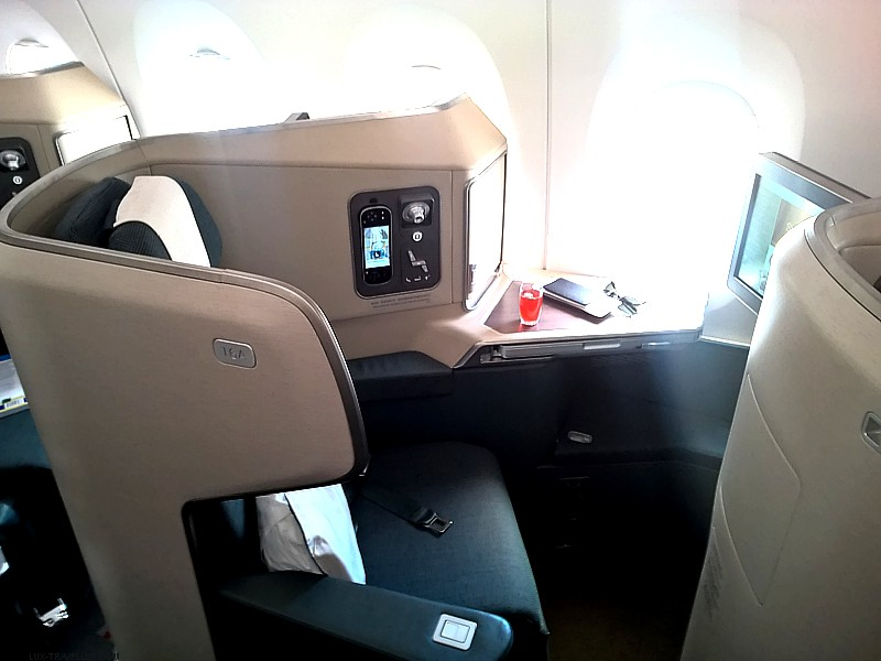 Trip Report: Cathay Pacific A350 Business Class Hong Kong to