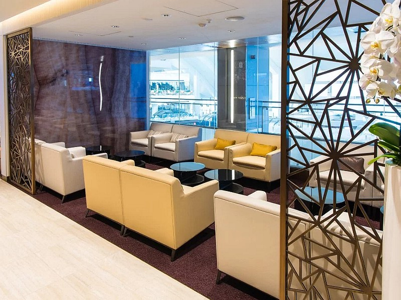 Etihad Los Angeles Lounge LAX