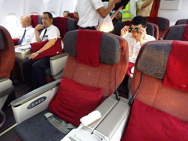 Trip Report: Garuda Business Class Sydney to Bali Depasar and