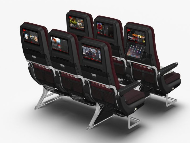 qantas 787 business economy seats 3