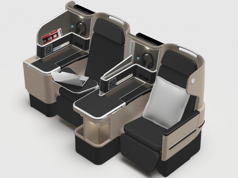 qantas 787 business economy seats
