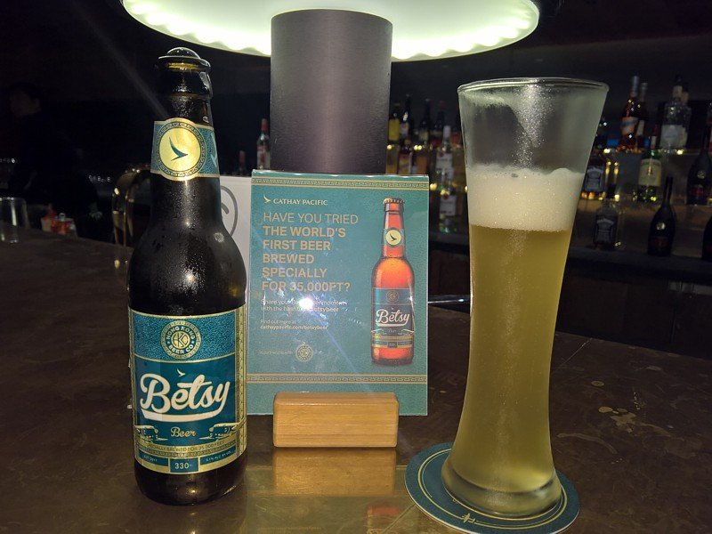 Cathay Pacific Brews Own Beer Again