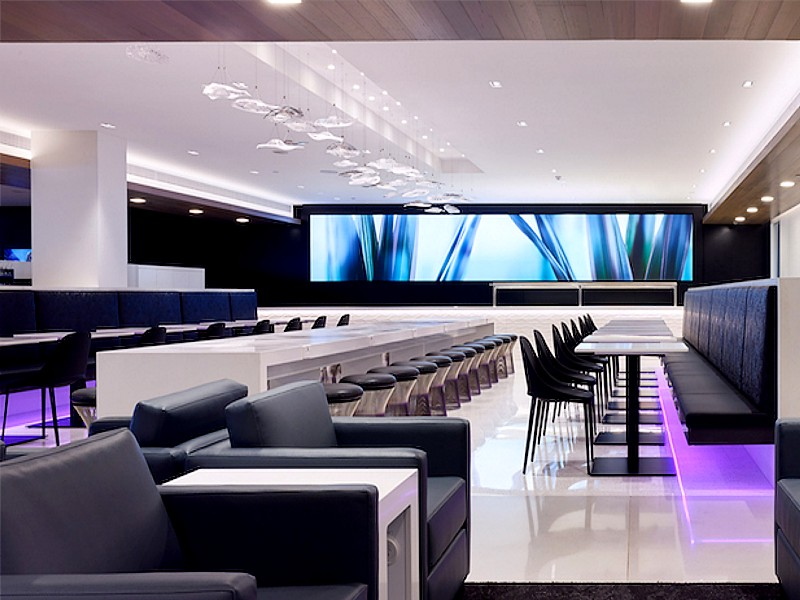 Air New Zealand Melbourne Lounge Open