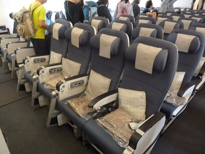 British Airways Economy Class Seat A380
