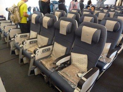 British Airways Economy Class Seat A380