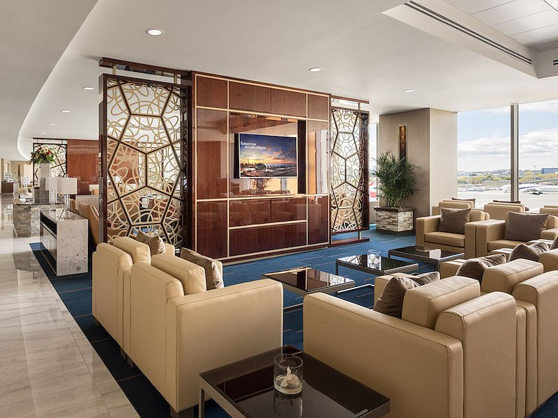 Emirates Opens New Lounge In Boston