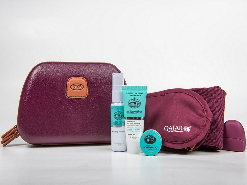 qatar airways amenity kit 3