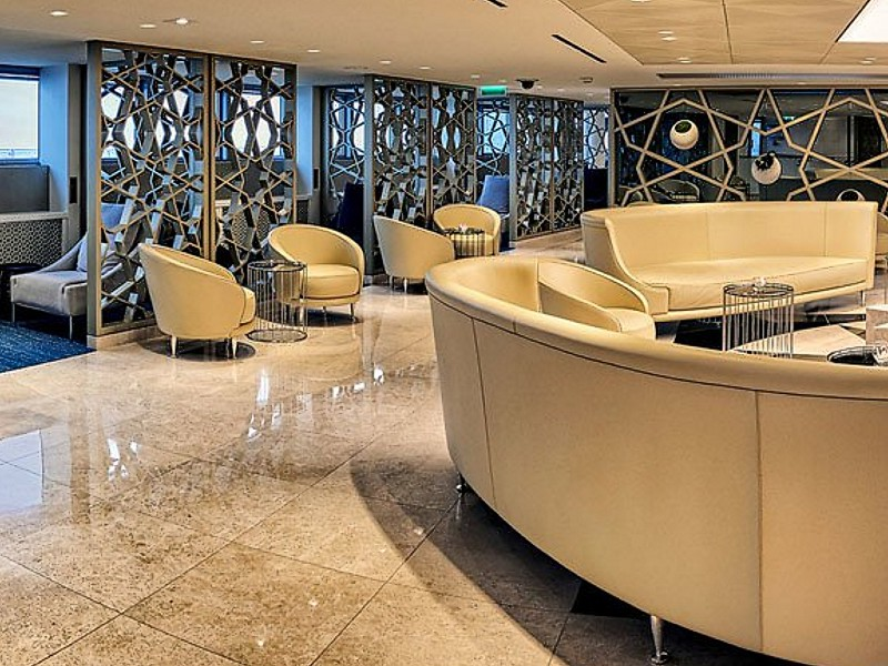 Qatar opens paris cdg lounge for Salon qatar cdg