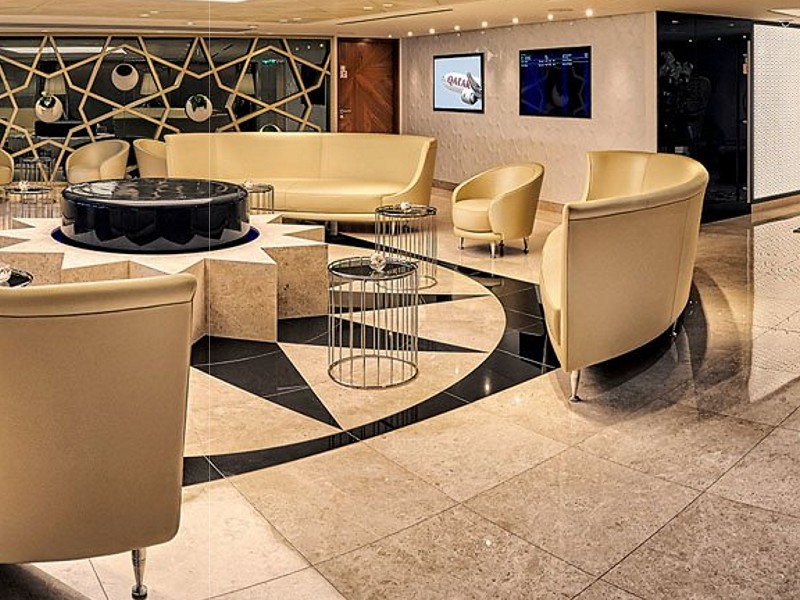 qatar airways paris lounge 4