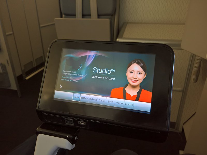 tripreport cathaydragon shanghai hongkong Cathay Dragon inflight