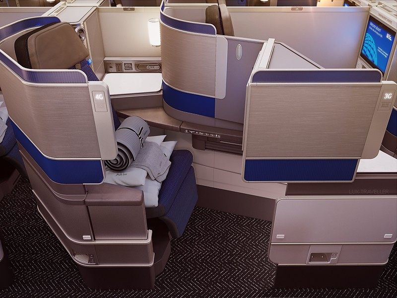 United airlines polaris boeing 777 300er flies for International seating and decor