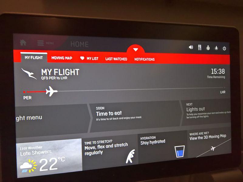 Trip Report: Qantas 787 Perth to London in economy