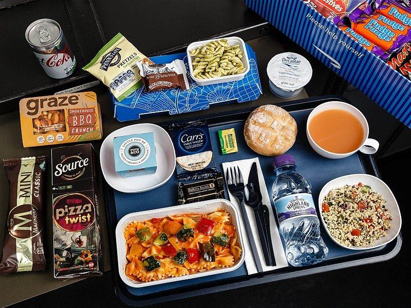 british airways meals economy