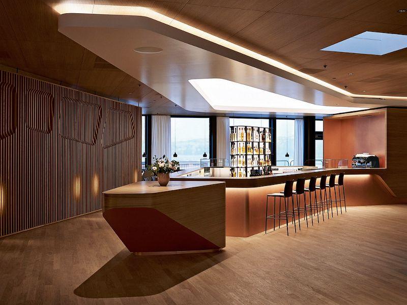 New Swiss First Class Lounge At Zurich