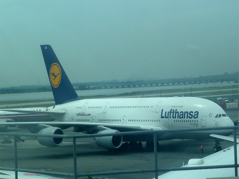 Lufthansa A380 Singapore Lufthansa A380