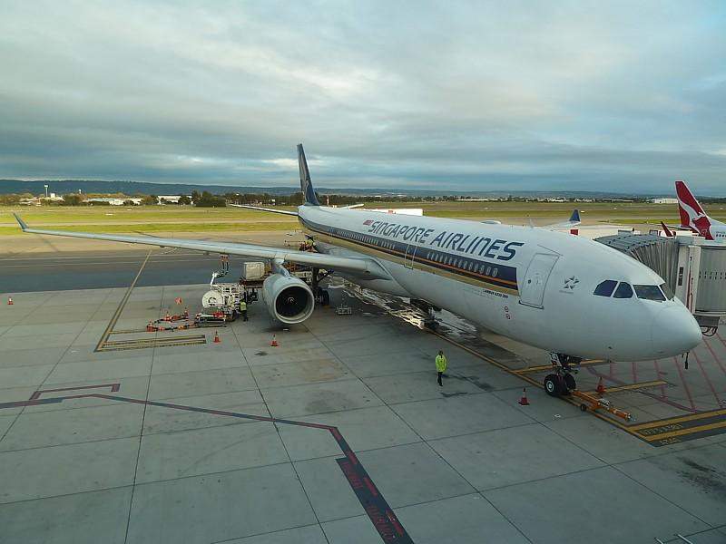 singapore airlines canberra wellington flights